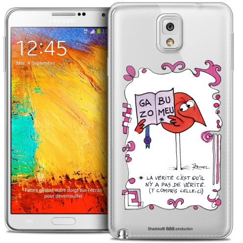 Extra Slim Crystal Galaxy Note 3 Case Les Shadoks® La Vérité