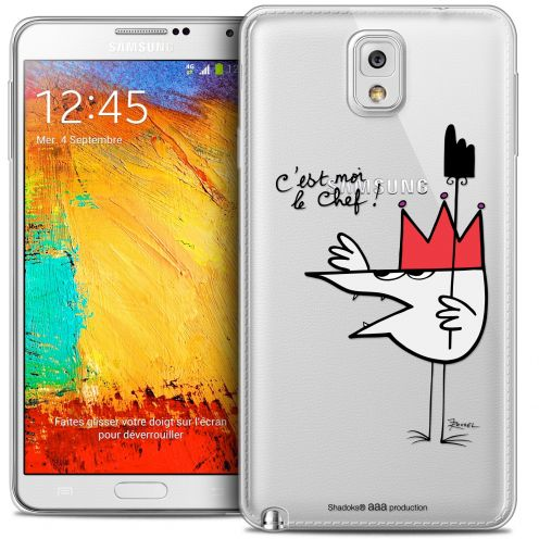 Extra Slim Crystal Galaxy Note 3 Case Les Shadoks® Le Chef