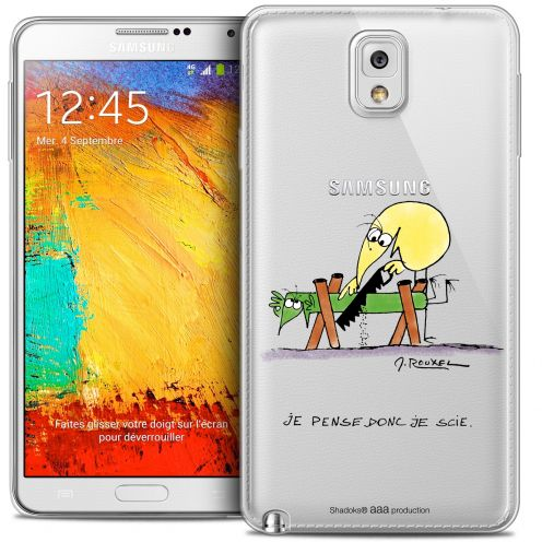 Extra Slim Crystal Galaxy Note 3 Case Les Shadoks® Je pense Donc