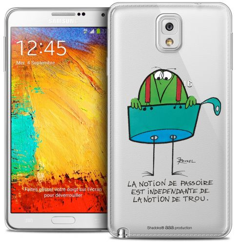 Extra Slim Crystal Galaxy Note 3 Case Les Shadoks® La Passoire
