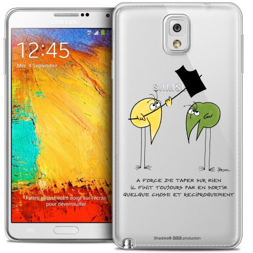 Extra Slim Crystal Galaxy Note 3 Case Les Shadoks® A Force
