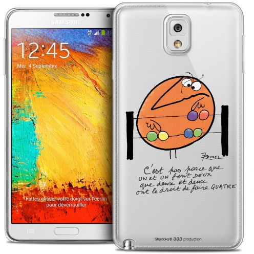 Extra Slim Crystal Galaxy Note 3 Case Les Shadoks® Mathématique