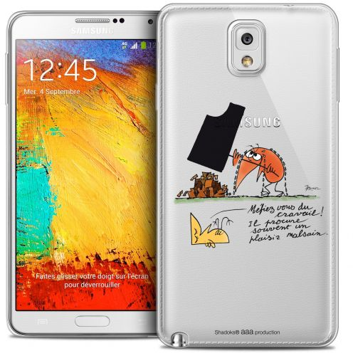Extra Slim Crystal Galaxy Note 3 Case Les Shadoks® Le Travail