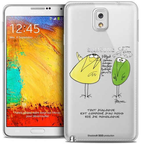 Extra Slim Crystal Galaxy Note 3 Case Les Shadoks® Le Dialogue