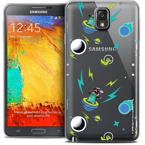 Crystal Galaxy Note 3 Case Lapins Crétins™ Space 1
