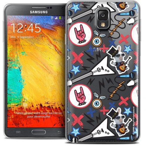 Crystal Galaxy Note 3 Case Lapins Crétins™ Rock Pattern