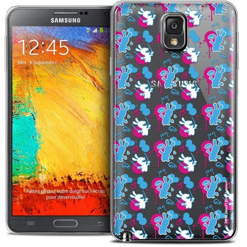 Crystal Galaxy Note 3 Case Lapins Crétins™ Rugby Pattern