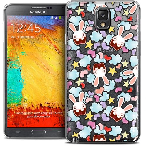 Crystal Galaxy Note 3 Case Lapins Crétins™ Love Pattern