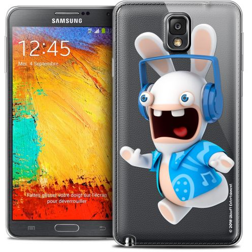 Crystal Galaxy Note 3 Case Lapins Crétins™ Techno Lapin
