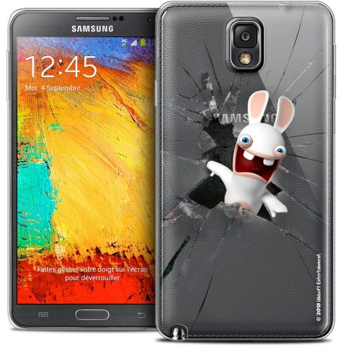 Crystal Galaxy Note 3 Case Lapins Crétins™ Breaking Glass