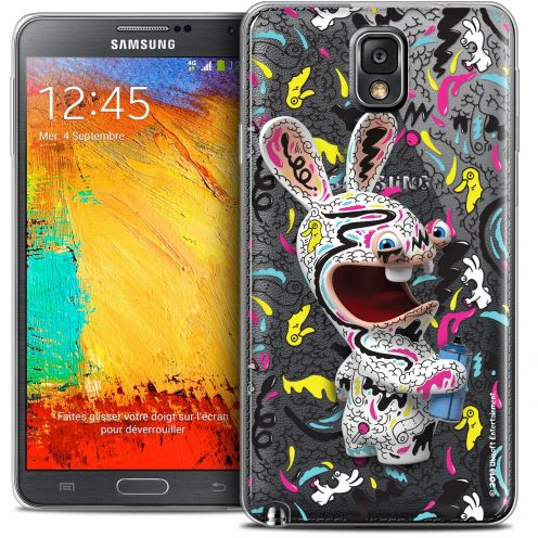 Crystal Galaxy Note 3 Case Lapins Crétins™ Tag