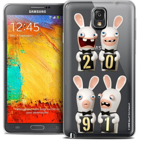 Crystal Galaxy Note 3 Case Lapins Crétins™ New Year