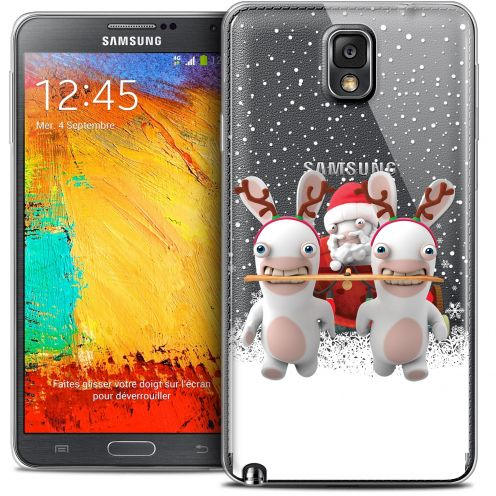 Crystal Galaxy Note 3 Case Lapins Crétins™ Lapin Traineau