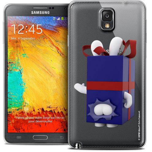Crystal Galaxy Note 3 Case Lapins Crétins™ Lapin Surprise Bleu