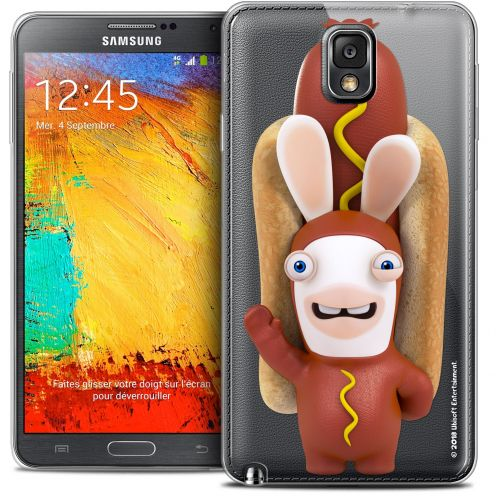 Crystal Galaxy Note 3 Case Lapins Crétins™ Hot Dog Crétin