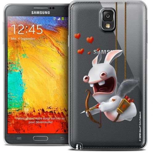 Crystal Galaxy Note 3 Case Lapins Crétins™ Flying Cupidon