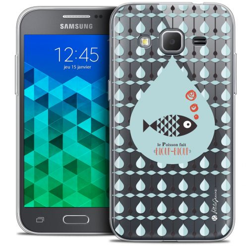 Extra Slim Crystal Samsung Galaxy Core Prime (G360) Case Petits Grains® Le Poisson