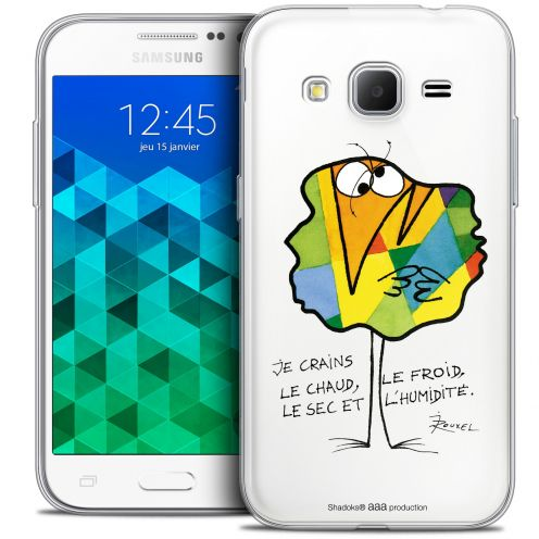 Extra Slim Crystal Samsung Galaxy Core Prime (G360) Case Les Shadoks® Chaud ou Froid