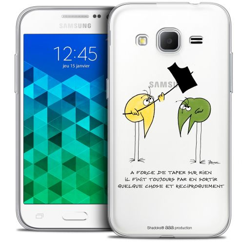 Extra Slim Crystal Samsung Galaxy Core Prime (G360) Case Les Shadoks® A Force