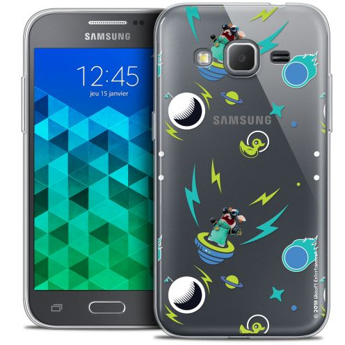 Crystal Samsung Galaxy Core Prime (G360) Case Lapins Crétins™ Space 1