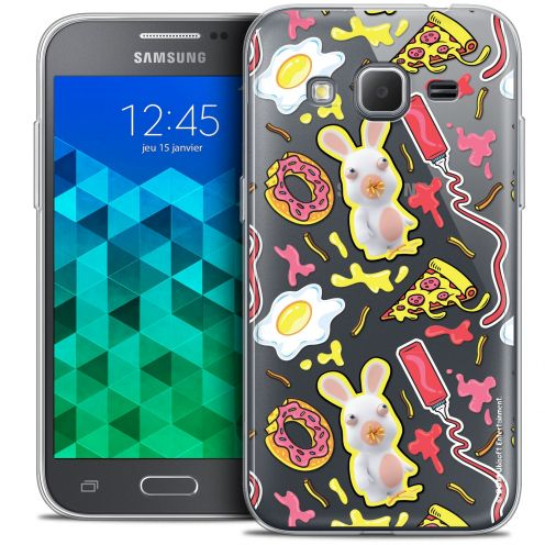 Crystal Samsung Galaxy Core Prime (G360) Case Lapins Crétins™ Egg Pattern