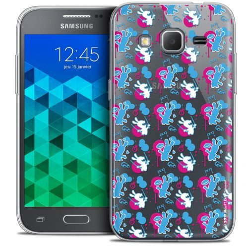 Crystal Samsung Galaxy Core Prime (G360) Case Lapins Crétins™ Rugby Pattern