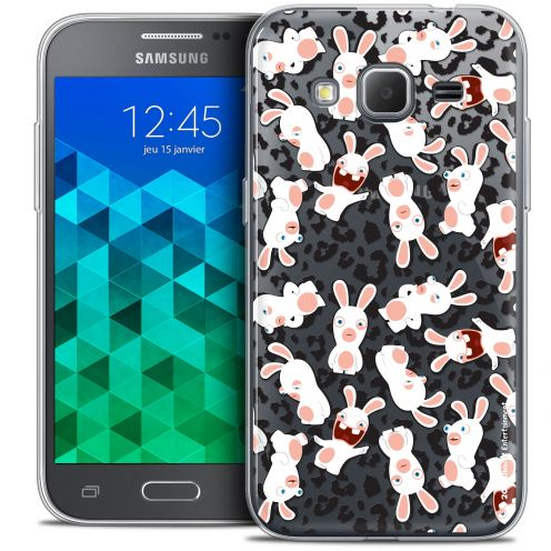 Crystal Samsung Galaxy Core Prime (G360) Case Lapins Crétins™ Leopard Pattern