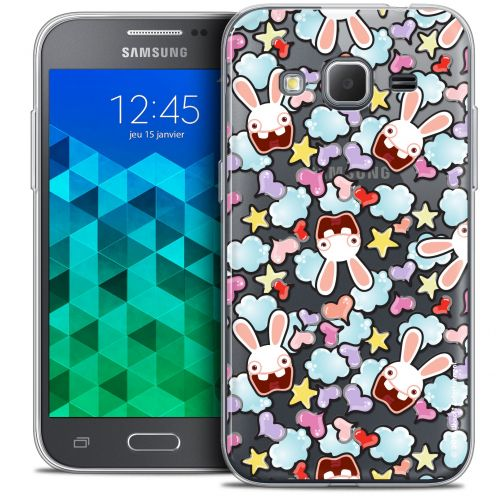 Crystal Samsung Galaxy Core Prime (G360) Case Lapins Crétins™ Love Pattern