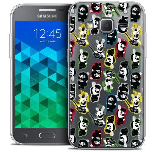 Crystal Samsung Galaxy Core Prime (G360) Case Lapins Crétins™ Punk Pattern