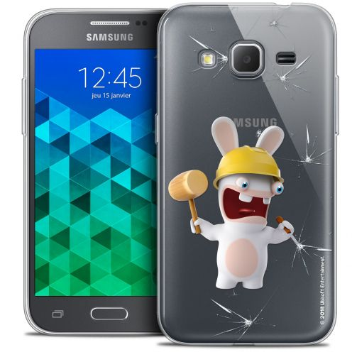 Crystal Samsung Galaxy Core Prime (G360) Case Lapins Crétins™ Breaker