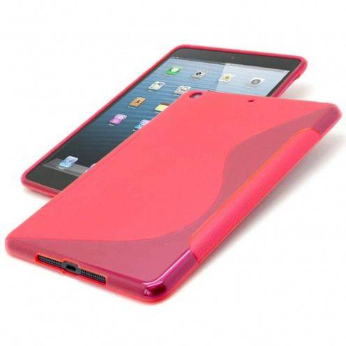 Tpu Basics S-Line iPad Mini case Red