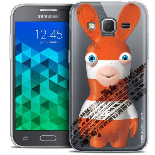 Crystal Samsung Galaxy Core Prime (G360) Case Lapins Crétins™ On the Road