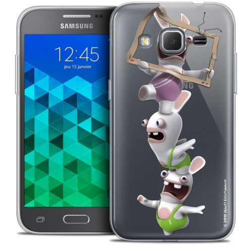 Crystal Samsung Galaxy Core Prime (G360) Case Lapins Crétins™ TV Sport