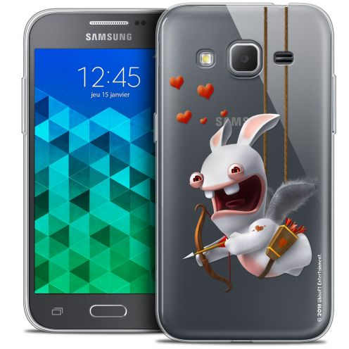 Crystal Samsung Galaxy Core Prime (G360) Case Lapins Crétins™ Flying Cupidon