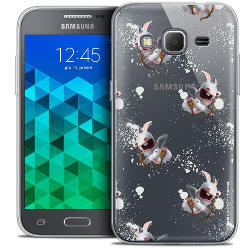 Crystal Samsung Galaxy Core Prime (G360) Case Lapins Crétins™ Cupidon Pattern