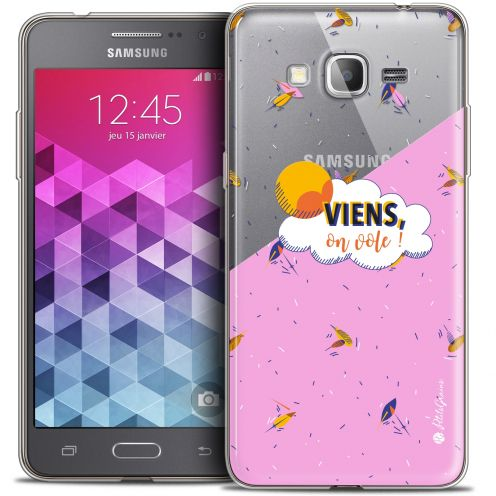 Extra Slim Crystal Galaxy Grand Prime Case Petits Grains® VIENS, On Vole !