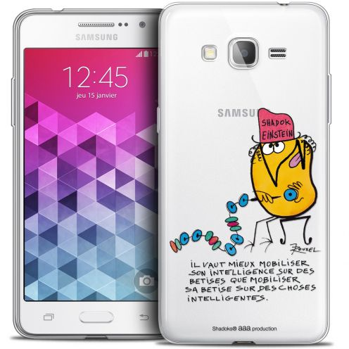 Extra Slim Crystal Galaxy Grand Prime Case Les Shadoks® Einstein
