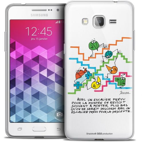 Extra Slim Crystal Galaxy Grand Prime Case Les Shadoks® L'escalier