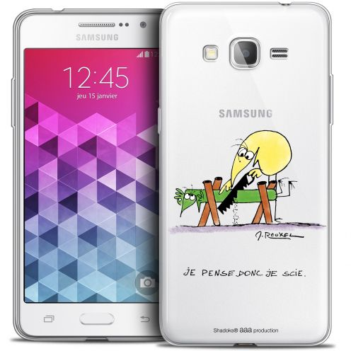 Extra Slim Crystal Galaxy Grand Prime Case Les Shadoks® Je pense Donc