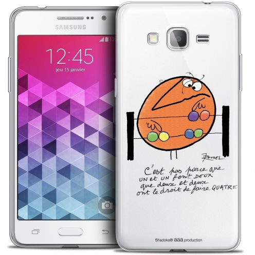 Extra Slim Crystal Galaxy Grand Prime Case Les Shadoks® Mathématique