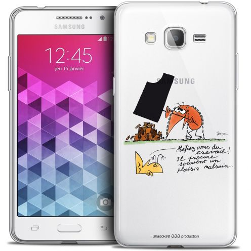 Extra Slim Crystal Galaxy Grand Prime Case Les Shadoks® Le Travail