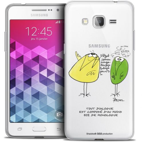 Extra Slim Crystal Galaxy Grand Prime Case Les Shadoks® Le Dialogue