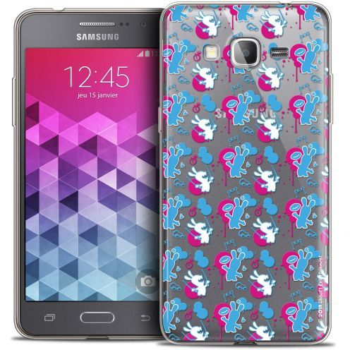 Crystal Galaxy Grand Prime Case Lapins Crétins™ Rugby Pattern