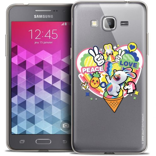 Crystal Galaxy Grand Prime Case Lapins Crétins™ Peace And Love