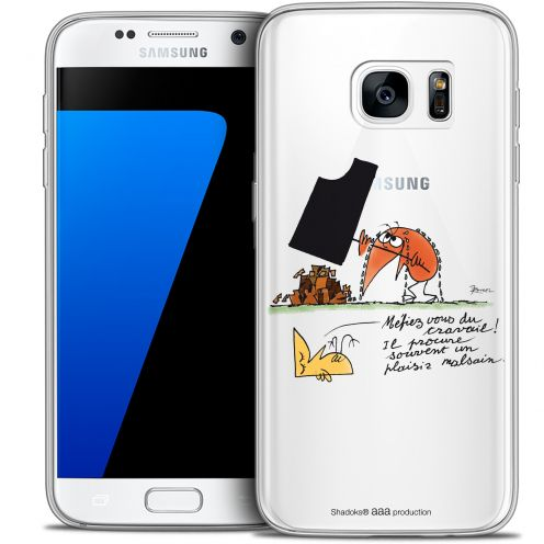 Extra Slim Crystal Galaxy S7 Case Les Shadoks® Le Travail