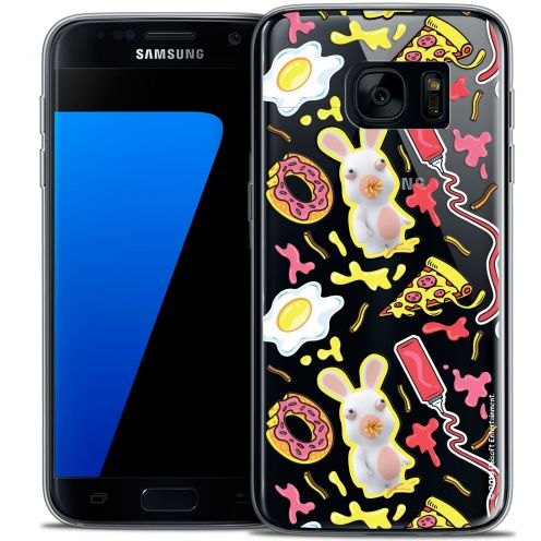 Crystal Galaxy S7 Case Lapins Crétins™ Egg Pattern