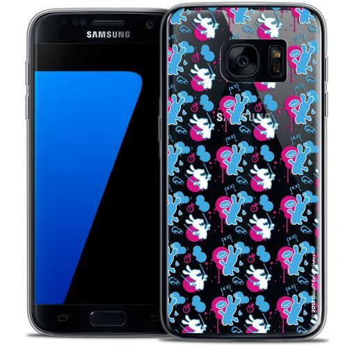 Crystal Galaxy S7 Case Lapins Crétins™ Rugby Pattern