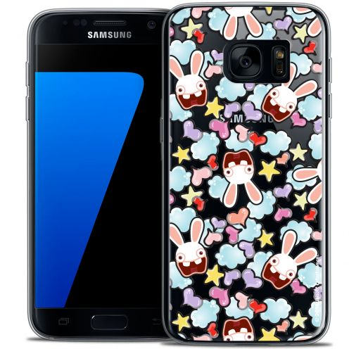 Crystal Galaxy S7 Case Lapins Crétins™ Love Pattern