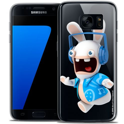 Crystal Galaxy S7 Case Lapins Crétins™ Techno Lapin