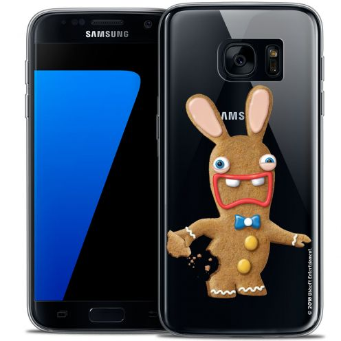 Crystal Galaxy S7 Case Lapins Crétins™ Cookie